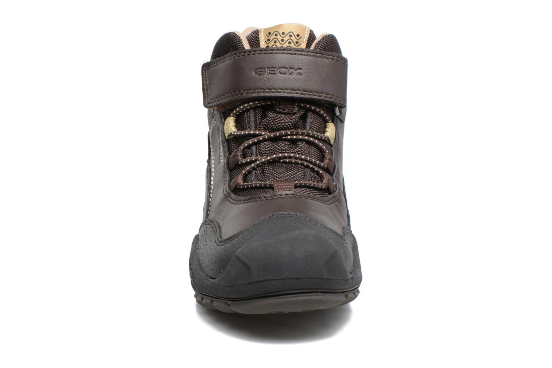 Boots en enkellaarsjes Geox J N.Savage B.B J741WA Bruin model