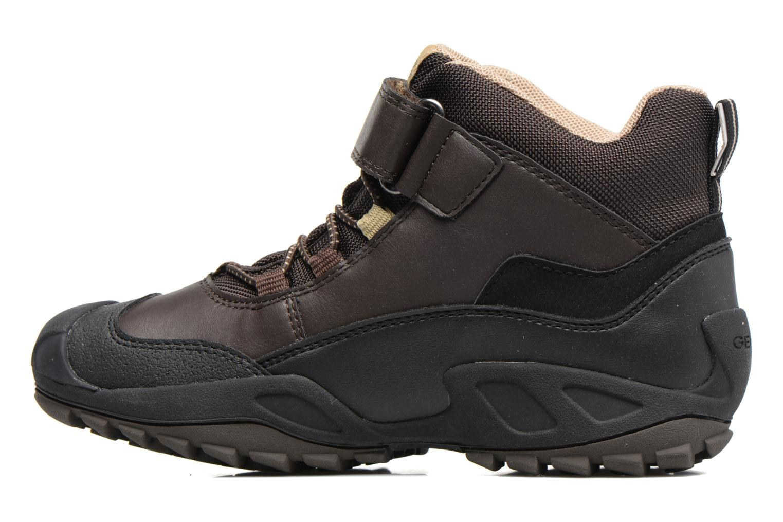 Bottines et boots Geox J N.Savage B.B J741WA Marron vue face