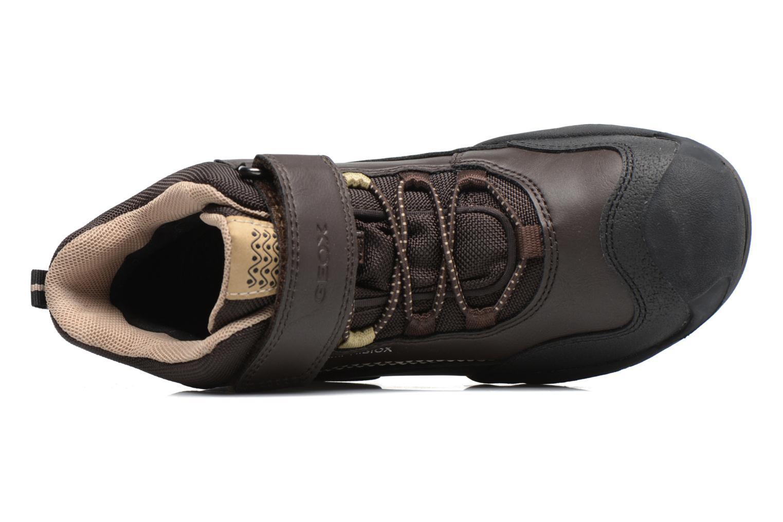 Boots en enkellaarsjes Geox J N.Savage B.B J741WA Bruin links