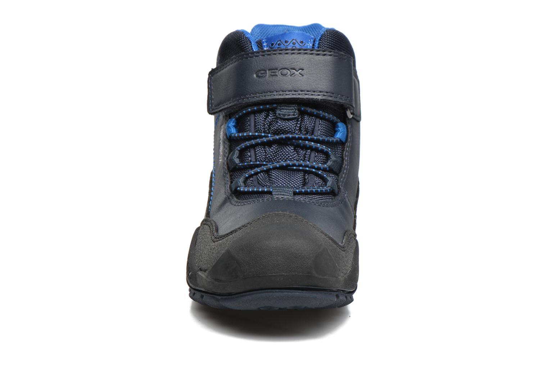 Bottines et boots Geox J N.Savage B.B J741WA Bleu vue portées chaussures