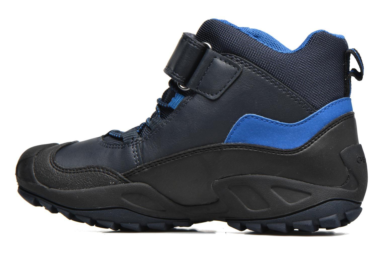 Bottines et boots Geox J N.Savage B.B J741WA Bleu vue face