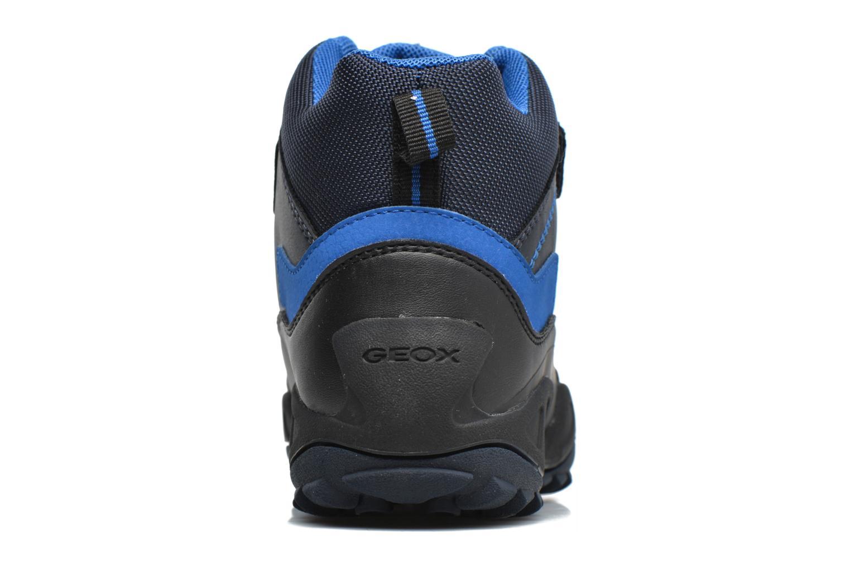 Bottines et boots Geox J N.Savage B.B J741WA Bleu vue droite