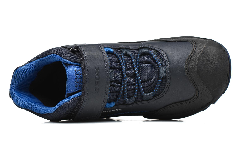 Bottines et boots Geox J N.Savage B.B J741WA Bleu vue gauche