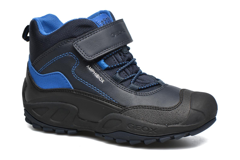 Bottines et boots Geox J N.Savage B.B J741WA Bleu vue détail/paire