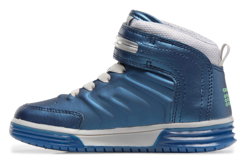 Sneaker Geox J Argonat B. B J7429B blau ansicht von vorne