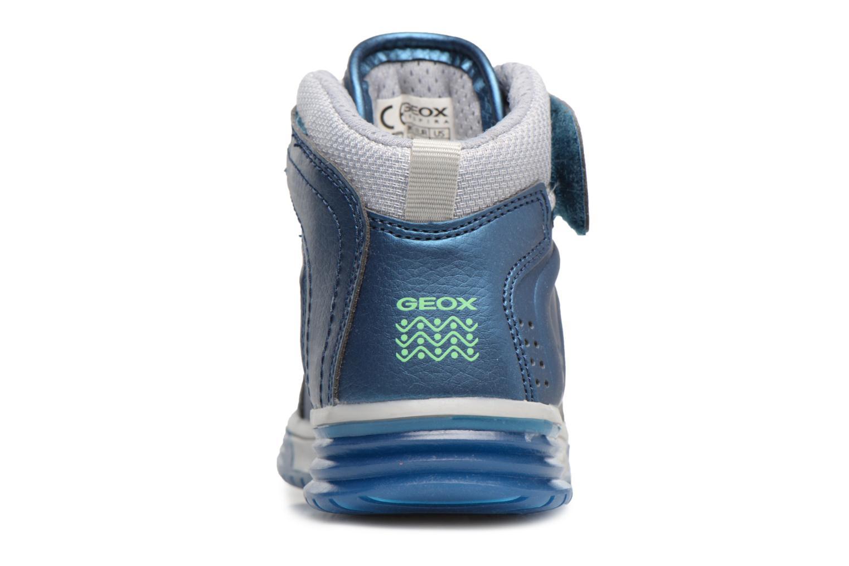 Sneaker Geox J Argonat B. B J7429B blau ansicht von rechts
