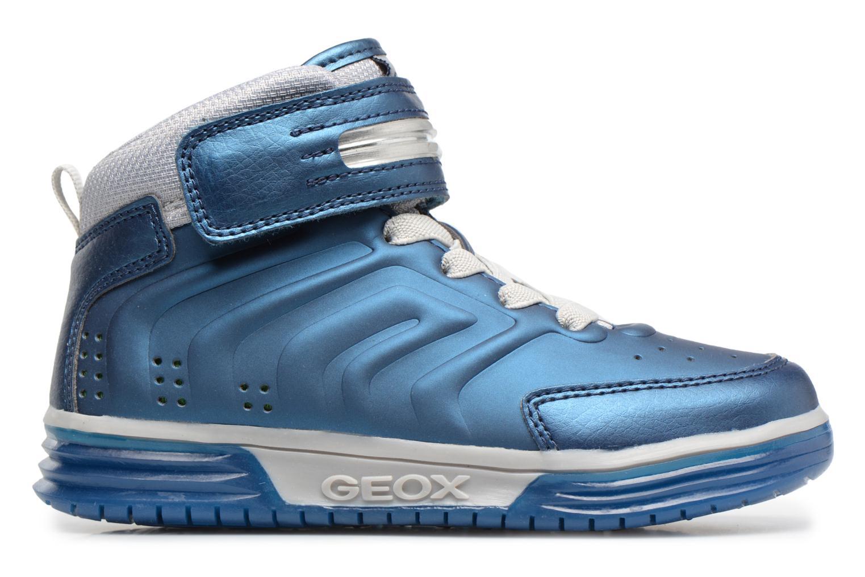 Sneaker Geox J Argonat B. B J7429B blau ansicht von hinten