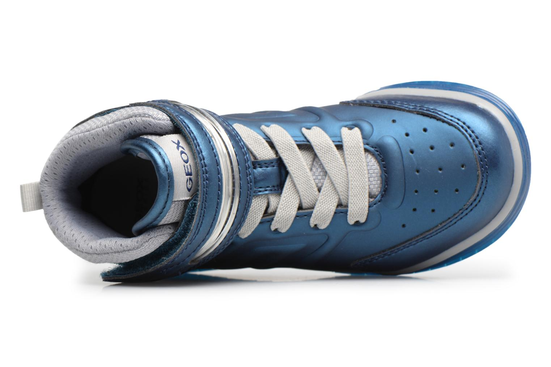 Sneaker Geox J Argonat B. B J7429B blau ansicht von links
