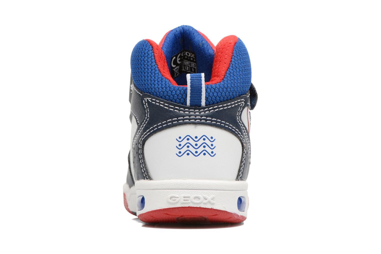 Baskets Geox J Gregg A J7447A Bleu vue droite