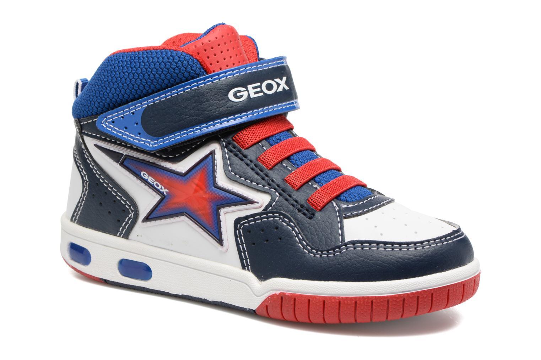 Baskets Geox J Gregg A J7447A Bleu vue détail/paire
