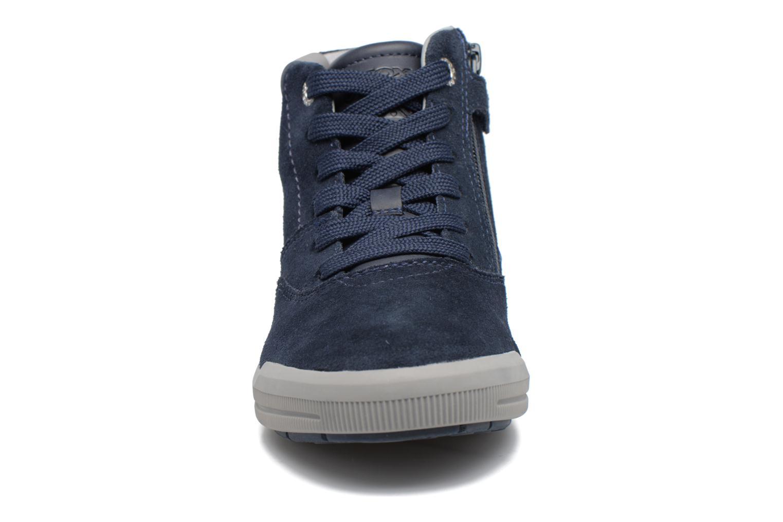 Baskets Geox J Arzach B. H  J744AH Bleu vue portées chaussures
