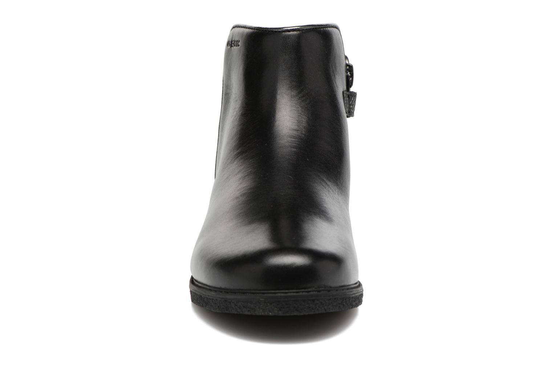 Bottines et boots Geox J Shawntel G. D J744ED Noir vue portées chaussures