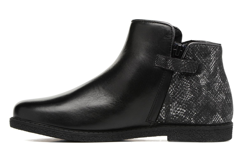 Bottines et boots Geox J Shawntel G. D J744ED Noir vue face