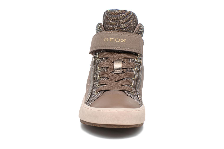 Baskets Geox J Kalispera G.I J744GI Beige vue portées chaussures