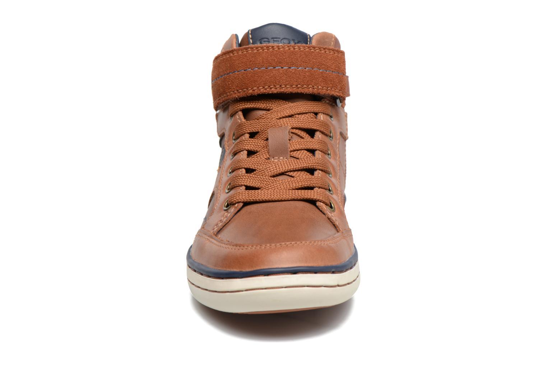 Baskets Geox J Garcia B. A  J74B6A Marron vue portées chaussures