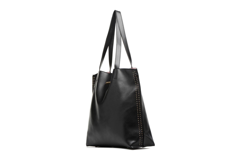 Sacs à main Dorothy Perkins Stud Side Shopper Bag Noir vue portées chaussures