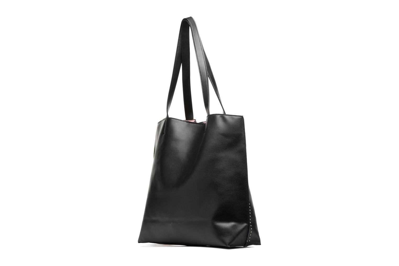Stud Side Shopper Bag Black