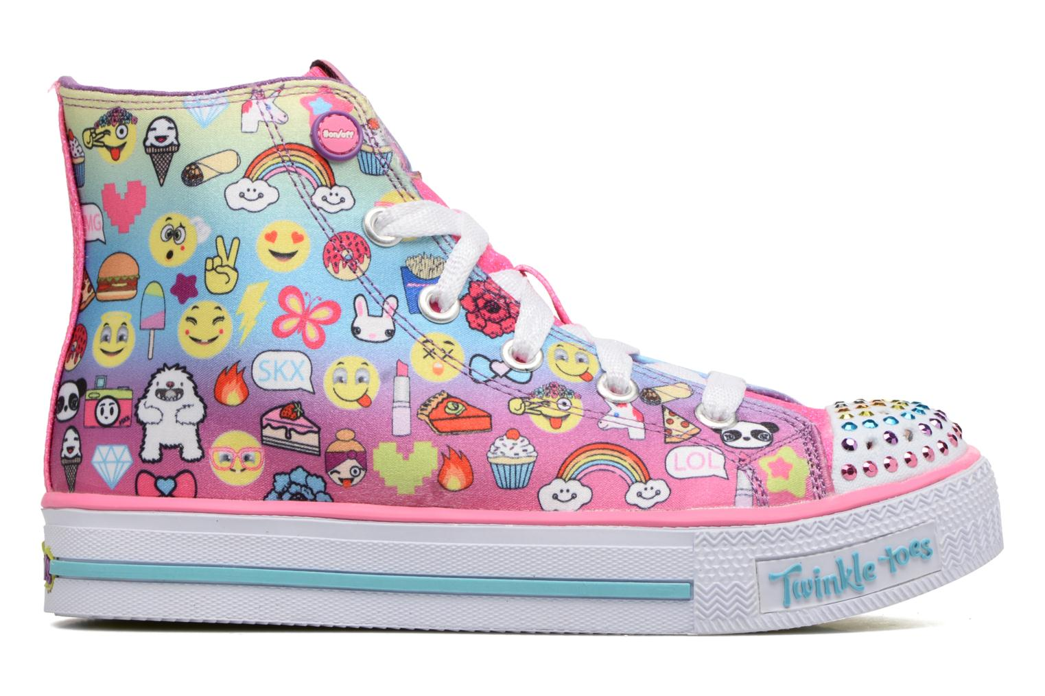 Baskets Skechers Shuffles Chat Time Multicolore vue derrière