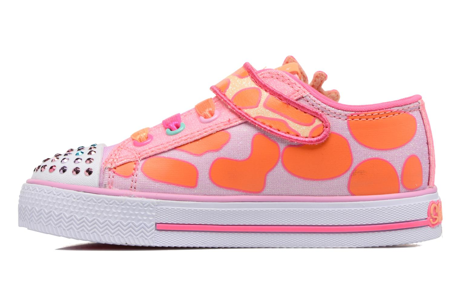 Shuffles Party Skechers Orange Pets Rose q6T1nz4