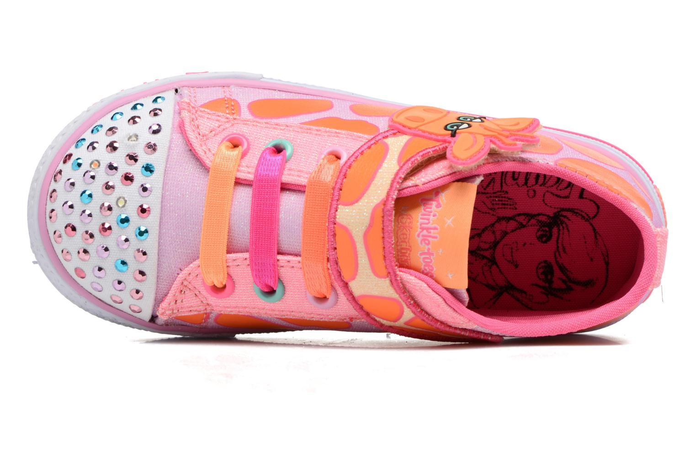Baskets Skechers Shuffles Party Pets Multicolore vue gauche