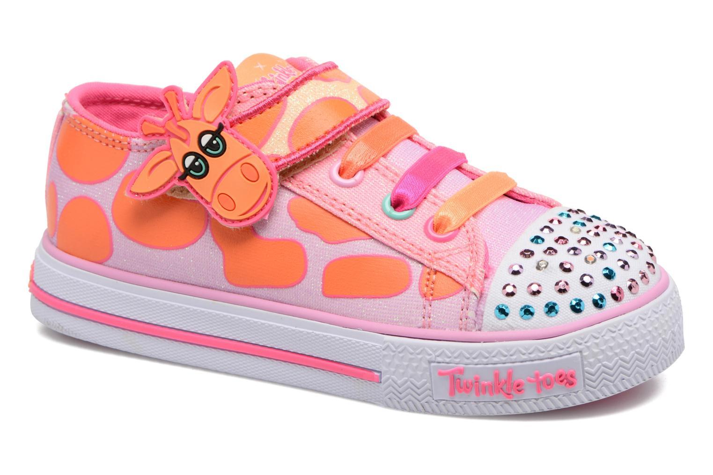 Baskets Skechers Shuffles Party Pets Multicolore vue détail/paire