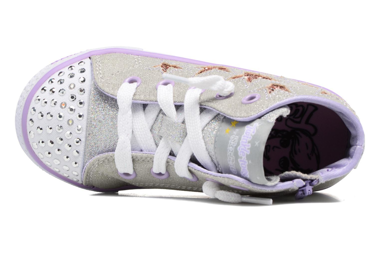 Stars Lil Lavende Skechers Argent Rockin Shuffles tAwwq8Z1