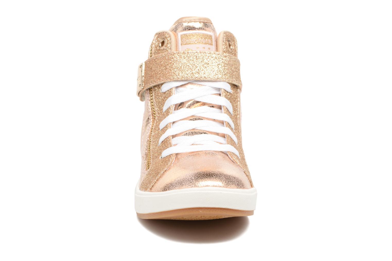 Baskets Skechers Shoutouts Quilted Crush Or et bronze vue portées chaussures