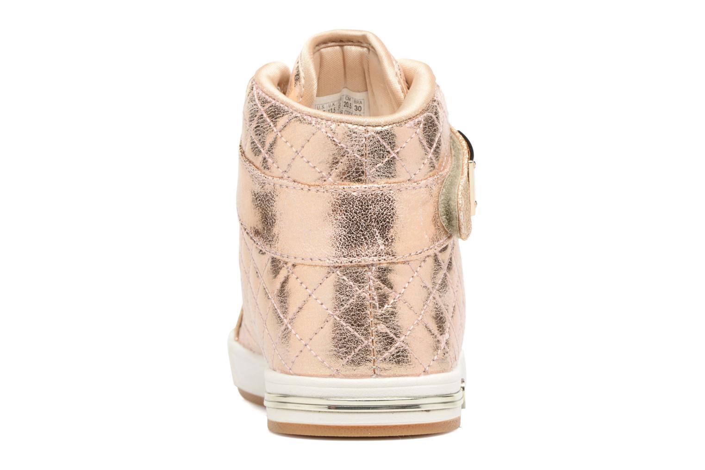 Baskets Skechers Shoutouts Quilted Crush Or et bronze vue droite