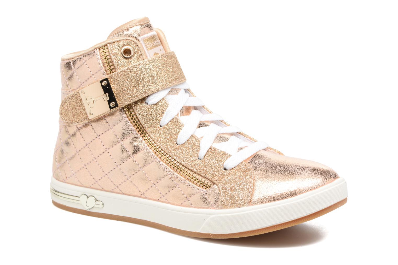 Baskets Skechers Shoutouts Quilted Crush Or et bronze vue détail/paire