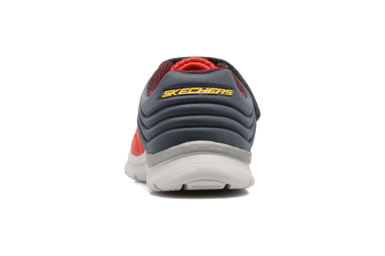 Chaussures de sport Skechers Skech-Lite Micro Stepz Rouge vue droite