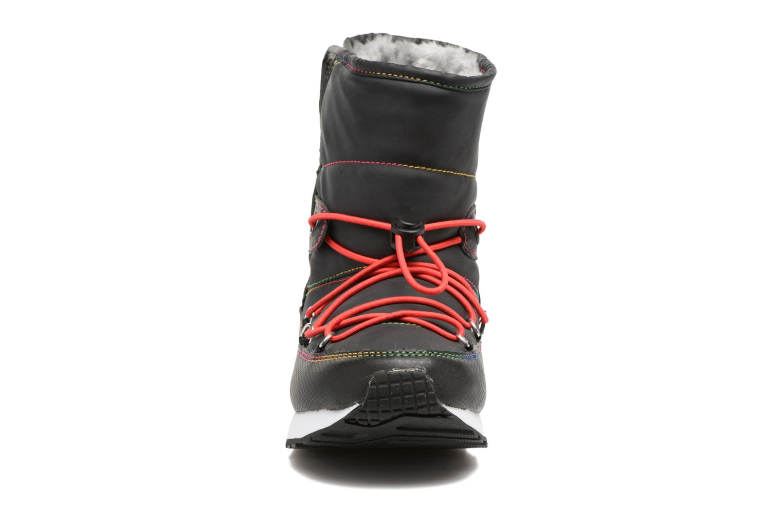 Sportschuhe Skechers Retrospect Winter Daze schwarz schuhe getragen