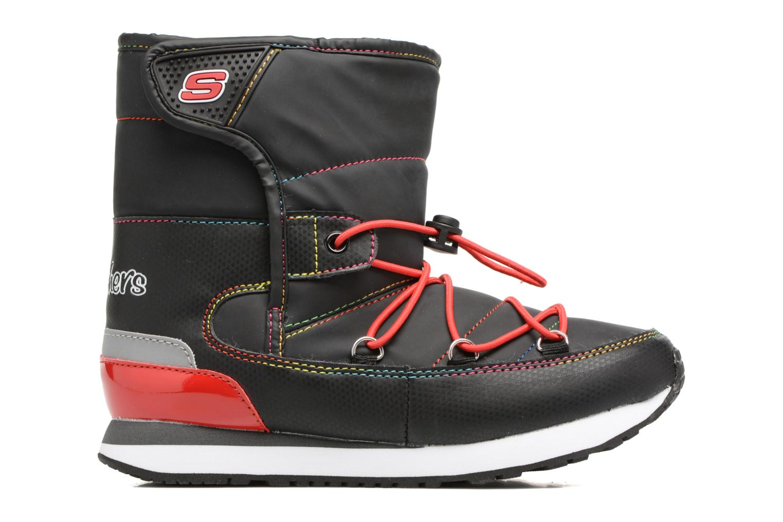 Sportschuhe Skechers Retrospect Winter Daze schwarz ansicht von hinten