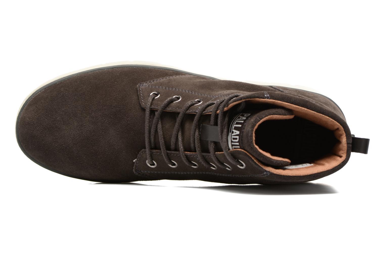 Stiefeletten & Boots Palladium Pallasider Mid Sue braun ansicht von links