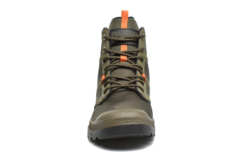 Bottines et boots Palladium Pallafuze Vert vue portées chaussures