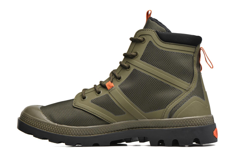 Boots en enkellaarsjes Palladium Pallafuze Groen voorkant