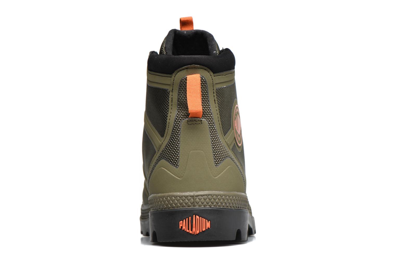 Bottines et boots Palladium Pallafuze Vert vue droite