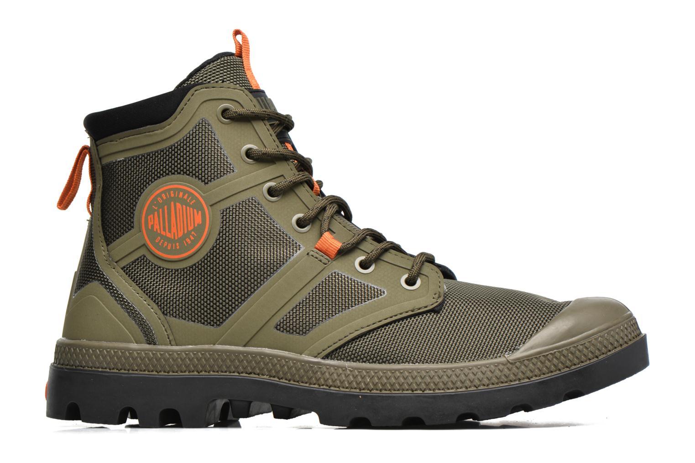 Boots en enkellaarsjes Palladium Pallafuze Groen achterkant