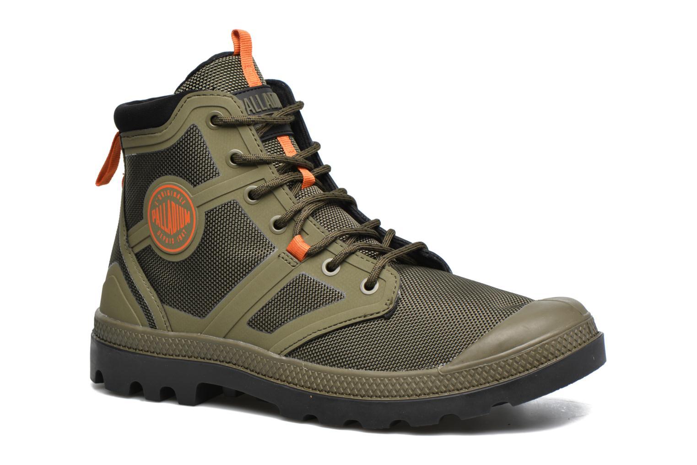 Bottines et boots Palladium Pallafuze Vert vue détail/paire