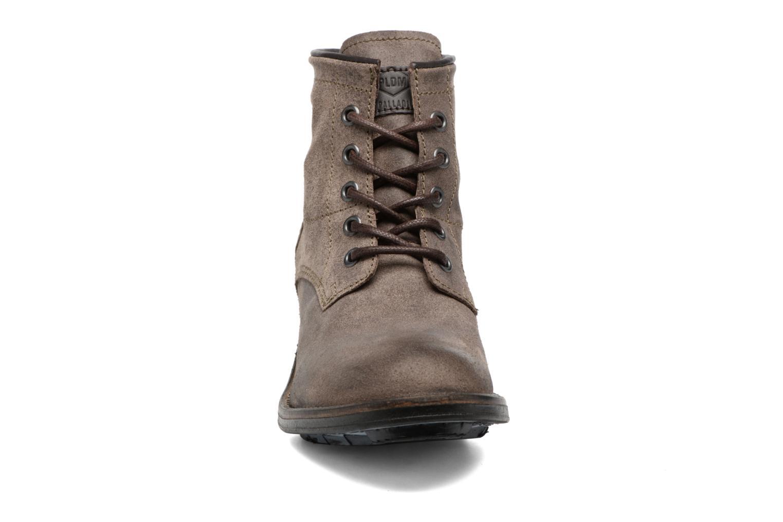 Bottines et boots P-L-D-M By Palladium Carthy Snt Marron vue portées chaussures