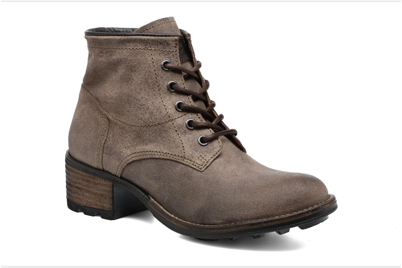 Bottines et boots P-L-D-M By Palladium Carthy Snt Marron vue détail/paire