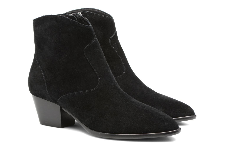 Bottines et boots Ash Heidi Bis Noir vue 3/4