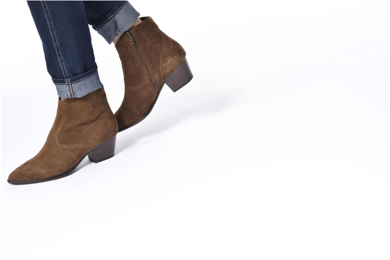 Bottines et boots Ash Heidi Bis Noir vue bas / vue portée sac