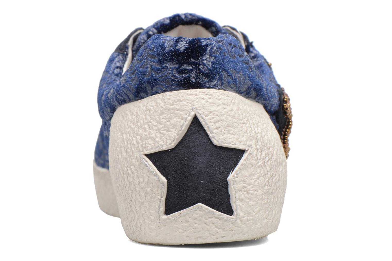 Baskets Ash Nymphea Bleu vue droite
