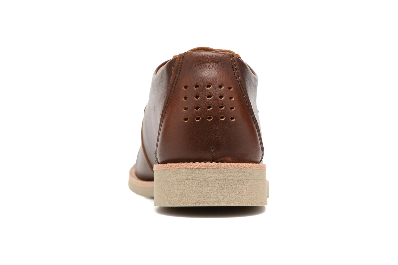 Chaussures à lacets TBS Farrah  3 Marron vue droite