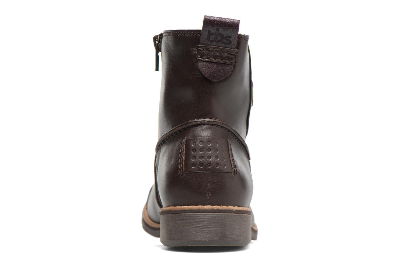 Boots en enkellaarsjes TBS Marleys Bruin rechts