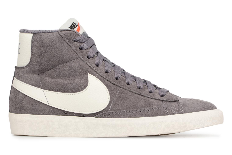Baskets Nike Wmns Blazer Mid Vntg Suede Gris vue derrière