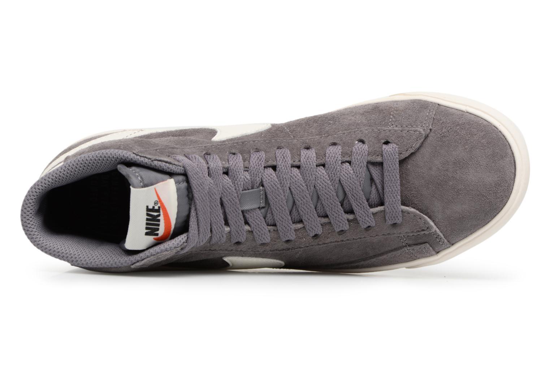 Baskets Nike Wmns Blazer Mid Vntg Suede Gris vue gauche