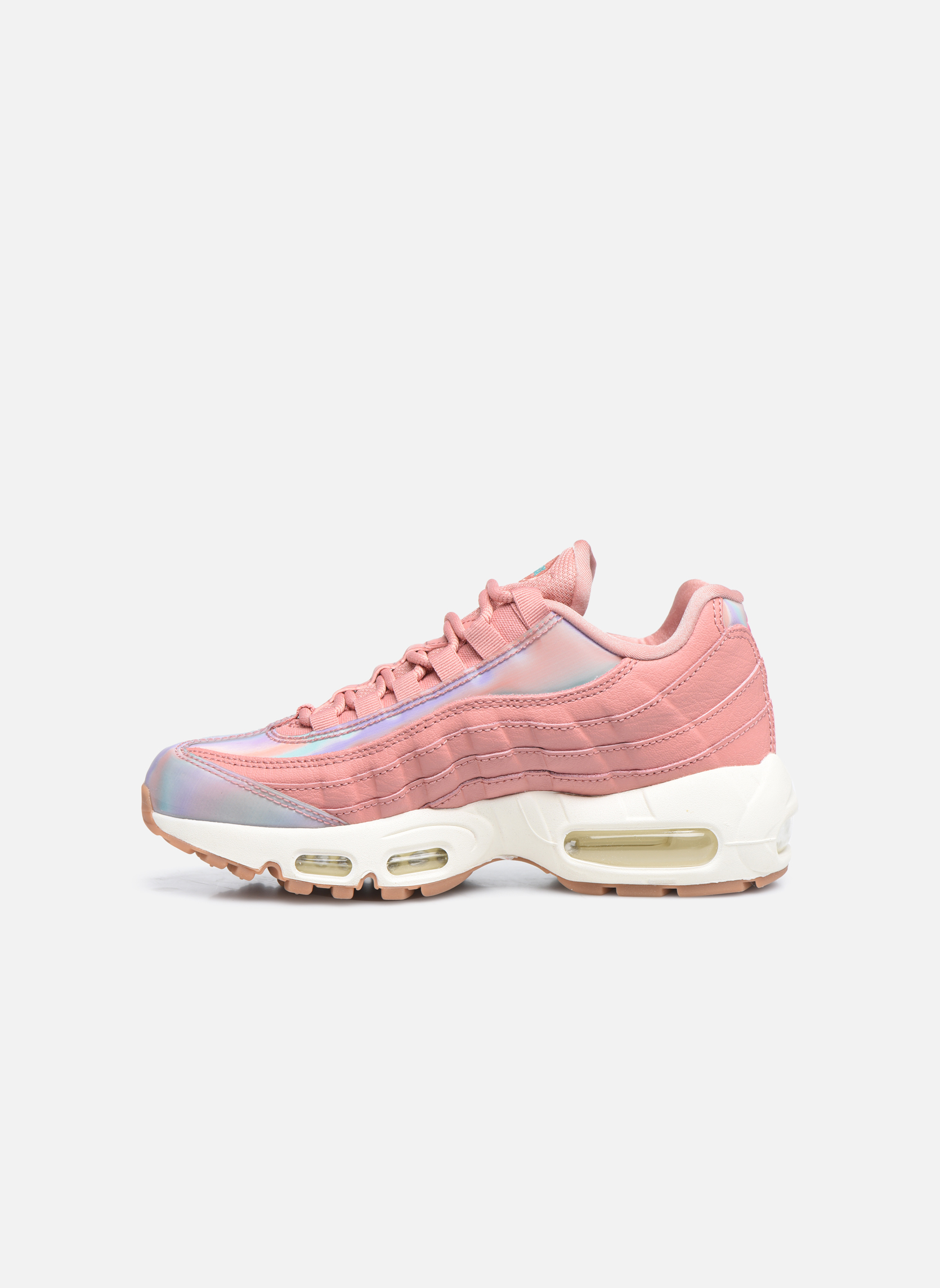 Baskets Nike Wmns Air Max 95 Se Rouge vue face