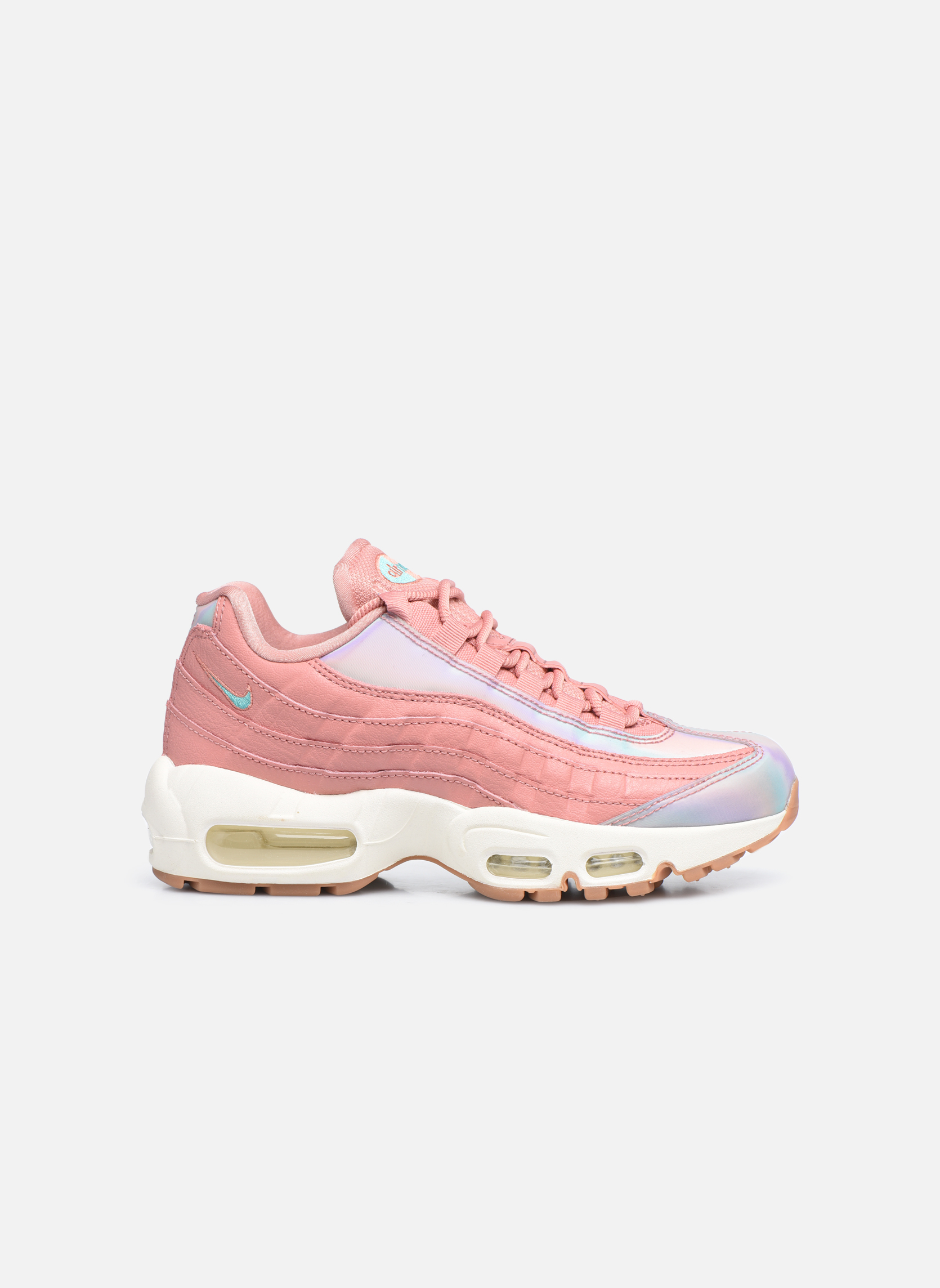 Wmns Air Max 95 Se Red Stardust/Washed Teal-Sail