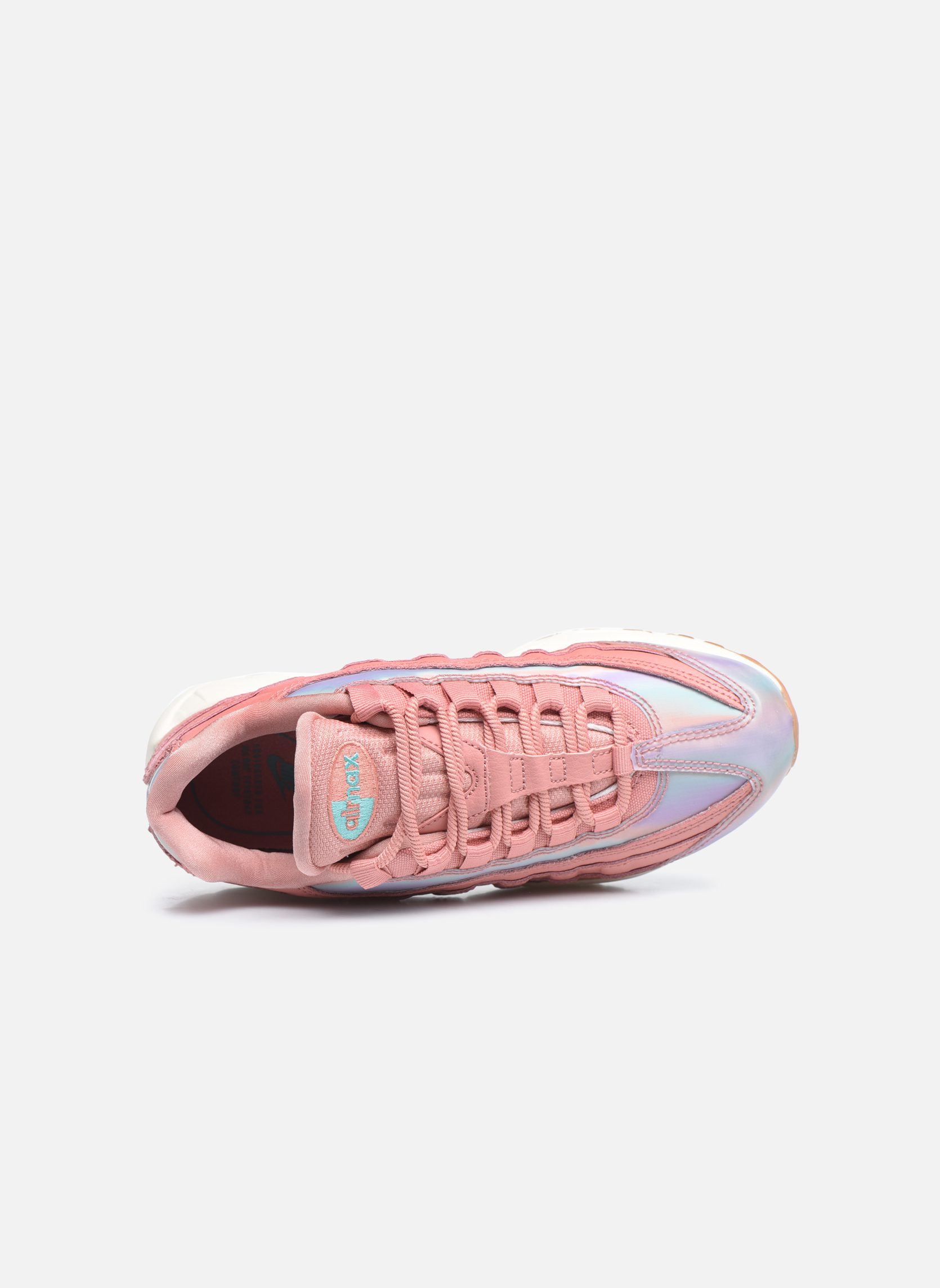 Baskets Nike Wmns Air Max 95 Se Rouge vue gauche